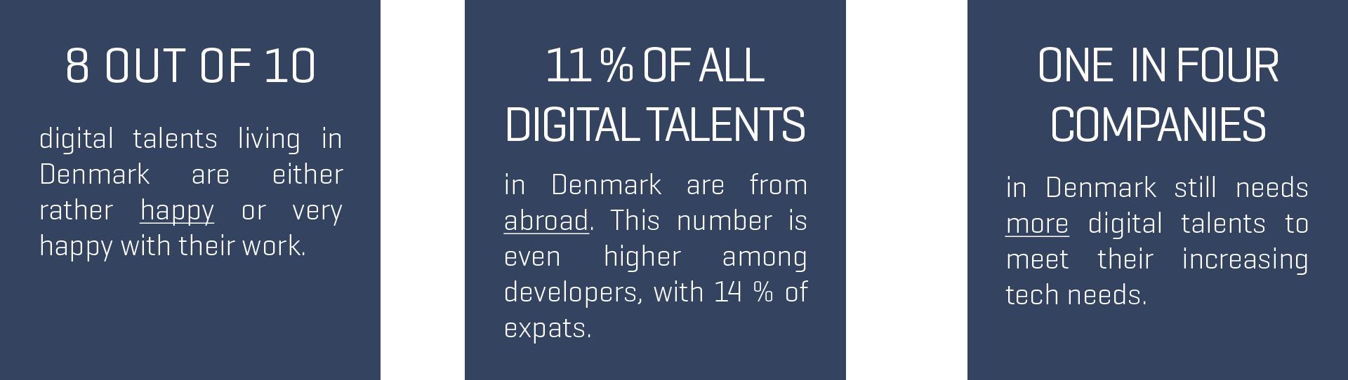 Digital talents in Denmark