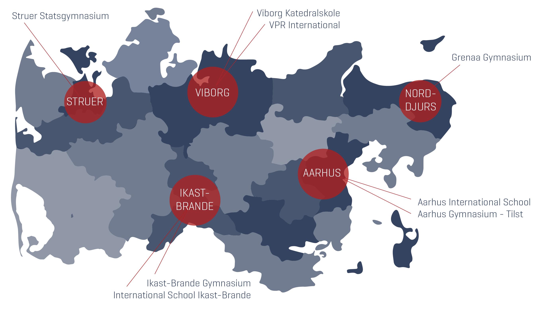 International schools in Midtjylland